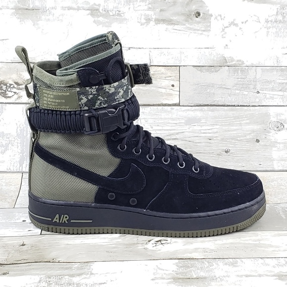 Nike Special Field Air Force 1 Men's Shoes Olive NWT